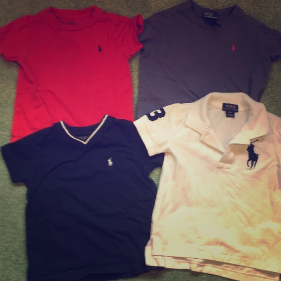 8c8c1b955 Polo by Ralph Lauren Shirts & Tops | Lot Of 4 Toddler Size 2t Polo ...